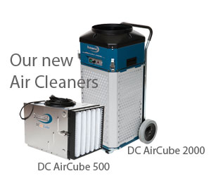 Dustcontrol's Air Cleaners, DC AirCube 2000 & 500