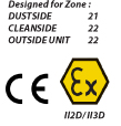 Dustcontrols' S 11000 EX is CE and EX marked