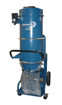 Dustcontrol's dust extractor for heavy cleaning