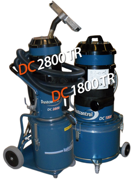 Compressed air dust extractors from Dustcontrol